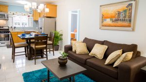 living and dining space in vacation rental home - choose to be happy