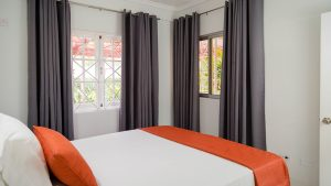 bedroom window view- choose to be happy