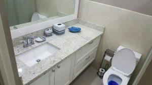 bathroom in vacation apartment rental