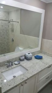 Vacation Rental Bathroom - Choose To Be Happy