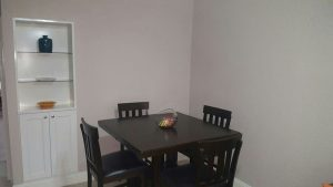 dining room interior vacation rental - choose to be happy