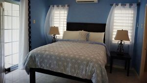 Queen Bedroom at Vacation Rental - Choose To Be Happy