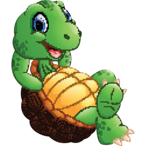 Choose To Be Happy Turtle Favicon