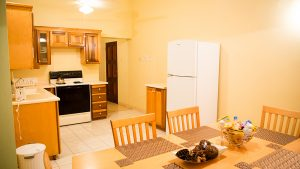kitchen and dining area in vacation rental - choose to be happy