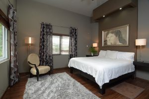 bedroom in vacation rental apartment - choose to be happy