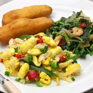 Jamaican Ackee and saltfish - Choose to be happy