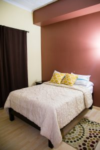 bedroom at the westbury vacation rental - choose to be happy