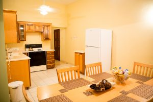 The Westbury Vacation Rental Kitchen and Dining View - Choose To Be Happy