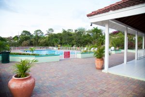 pool house at vacation rental property - choose to be happy