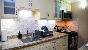 kitchen in vacation rental - choose to be happy