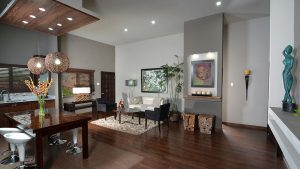 living room in palms of annette - choose to be happy