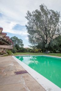 pool at the vacation rental property - choose to be happy