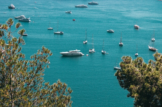 Yachts on the ocean - Choose To Be Happy